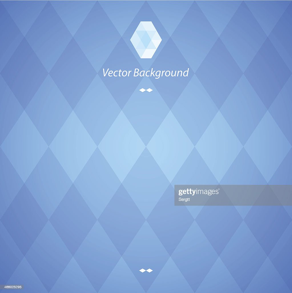 Blue abstract geometric background in blue