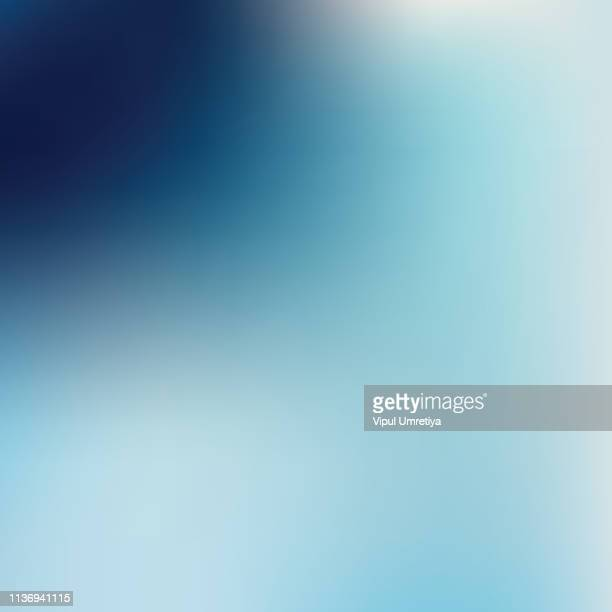 Blue abstract gradient background. Vector illustration