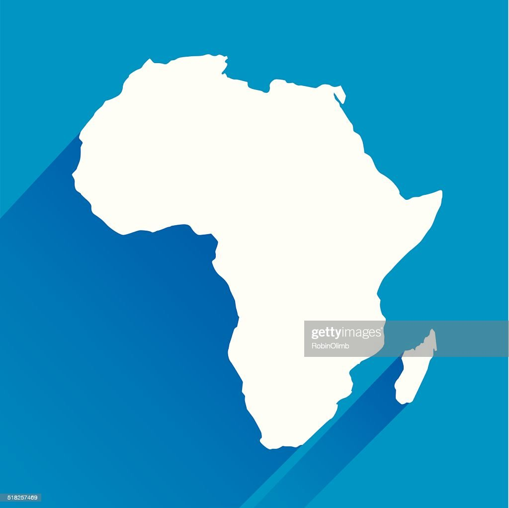Blue Africa Icon