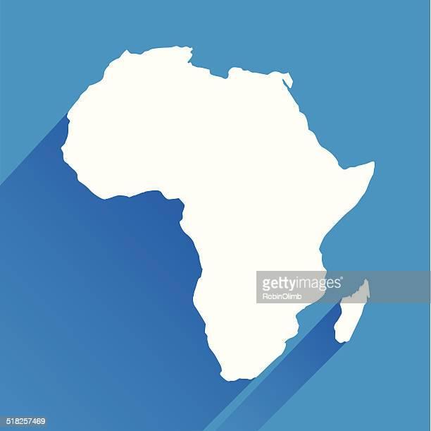 Blue Afrika-Symbol