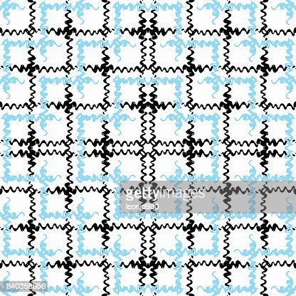 Blue And Black Waves On White Background Grunge Effect Stock