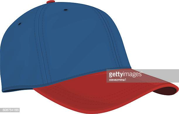 Blue and Red Cap