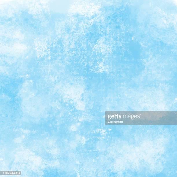 青と白の抽象的な壁のテクスチャ。グランジベクトル背景。 - ダメージ点のイラスト素材/クリップアート素材/マンガ素材/アイコン素材
