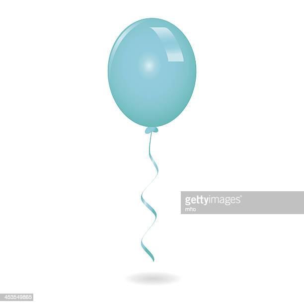 ブルーの球