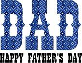 blue bandana dad fathers day