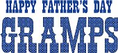 blue bandana gramps fathers day