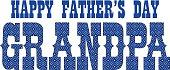blue bandana grandpa fathers day