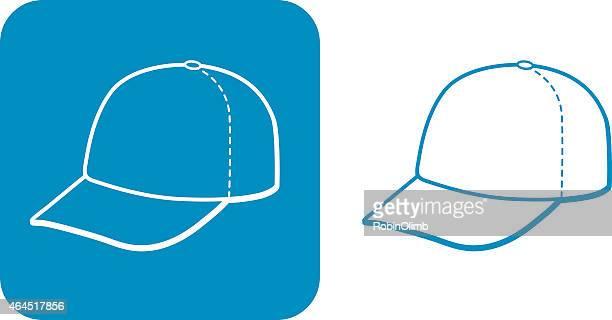 Blue Baseball Cap Icon