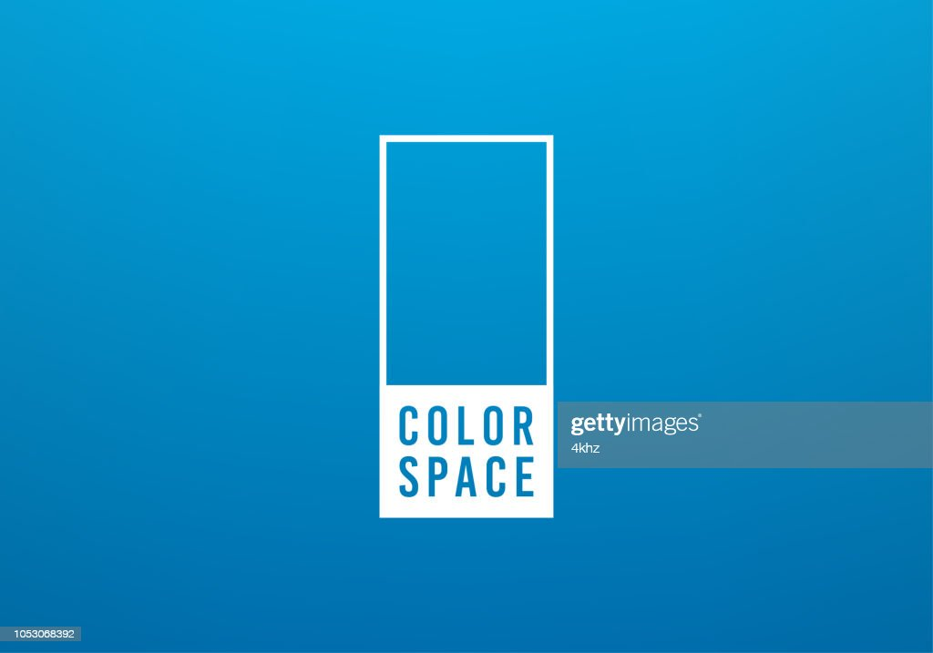 Blue Basic Elegant Soft Color Space Smooth Gradient Vector Background