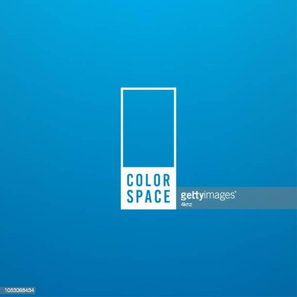illustrazioni stock, clip art, cartoni animati e icone di tendenza di blue basic elegant soft color space smooth gradient vector background - cambiare colore