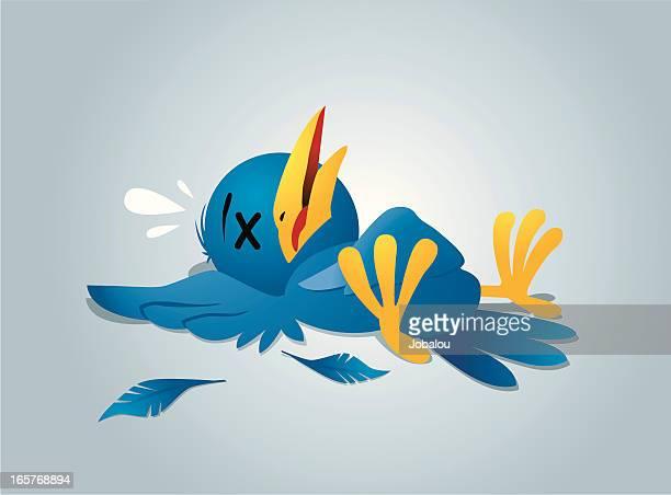 blue bird knockout - knockout stock illustrations, clip art, cartoons, & icons