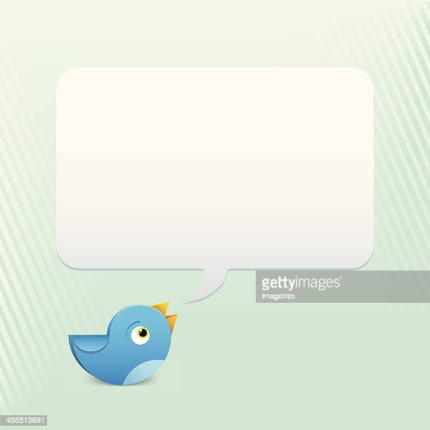 Blue Bird Talking