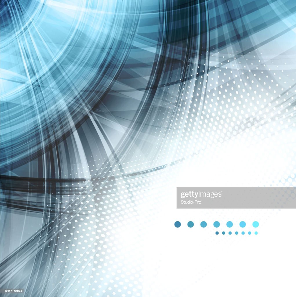 Blue Black And White Abstract Background Stock
