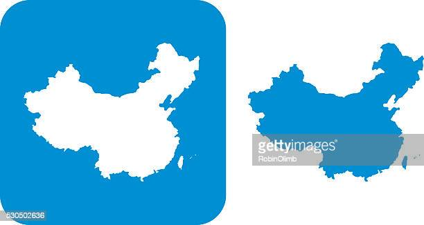 Blau China-Symbol