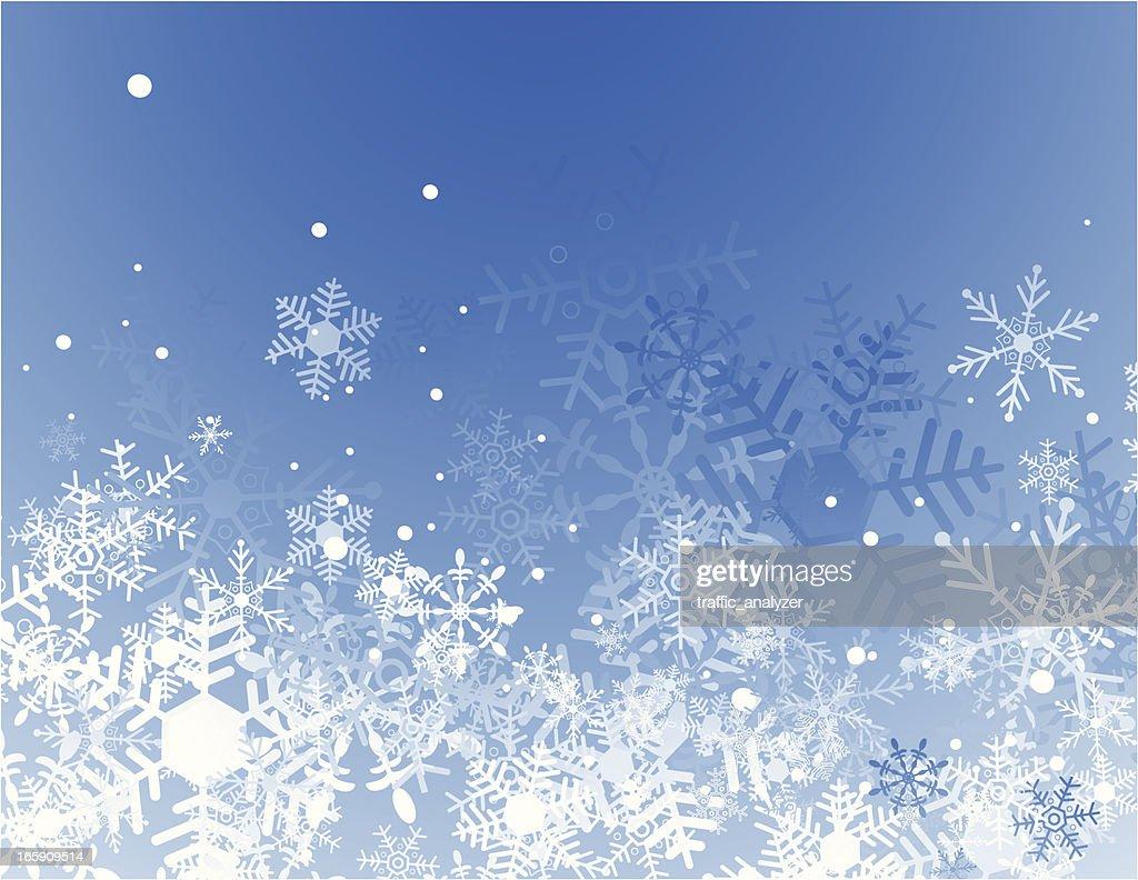 Blue christmas background : stock illustration