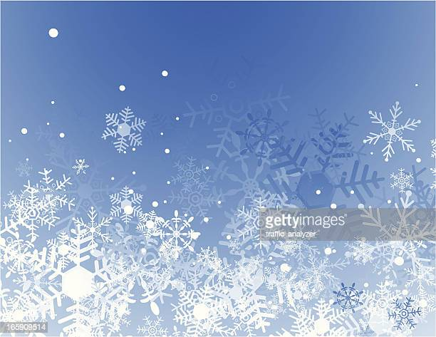 blue christmas background - image technique stock illustrations