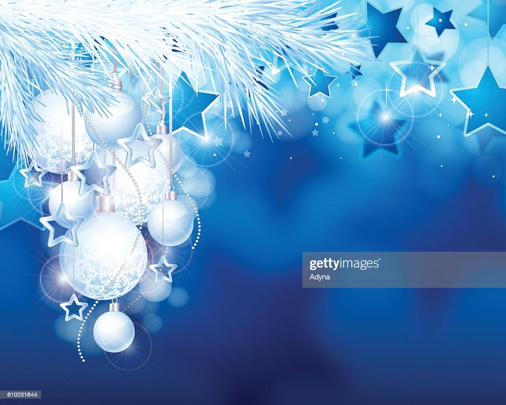 blue christmas background high res vector graphic getty images 2