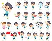 blue clothing boy 2