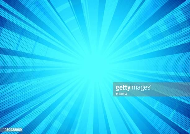 illustrazioni stock, clip art, cartoni animati e icone di tendenza di sfondo strutturato a scoppio stella comica blu - immagine mossa