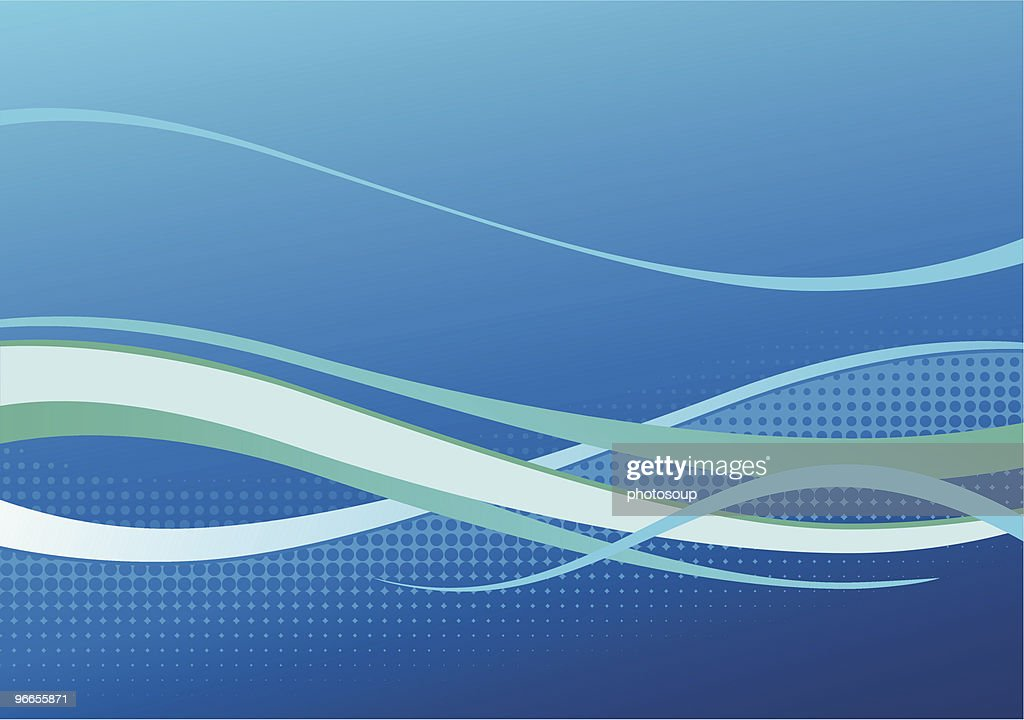 Blue corporate background