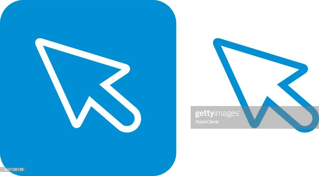 Blue Curser Icons