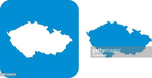 Blue Czech Republic Icon