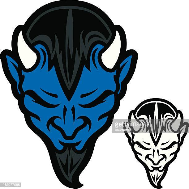 Blue Devil Head II