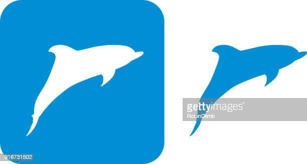 Blue Dolphin Icons