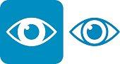 Blue Eye Icons