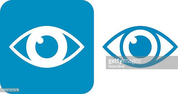 Blue Eye Icons