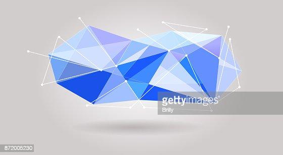 Blue Gemstone Header