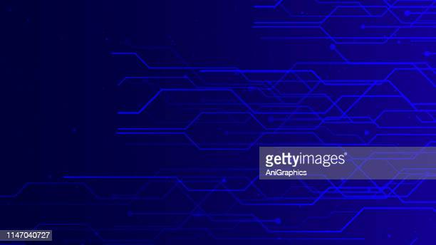 blue geometric abstract technology background - percussion instrument stock illustrations