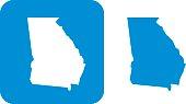 Blue Georgia Icon