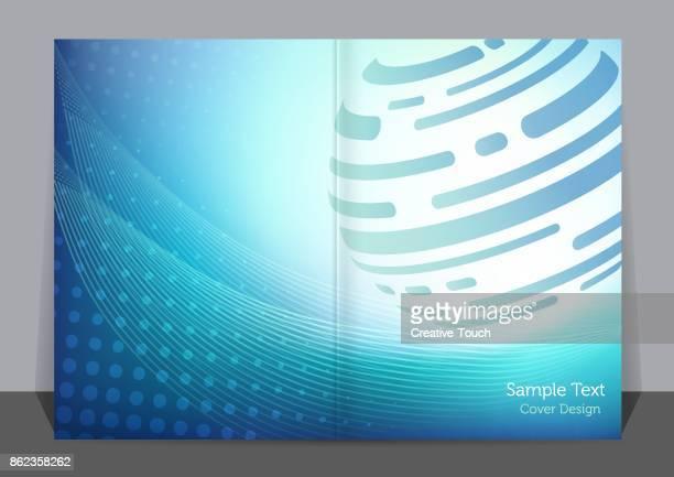 Blue Globe Cover design