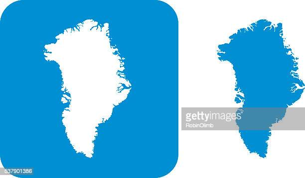 Blue Greenland Icons