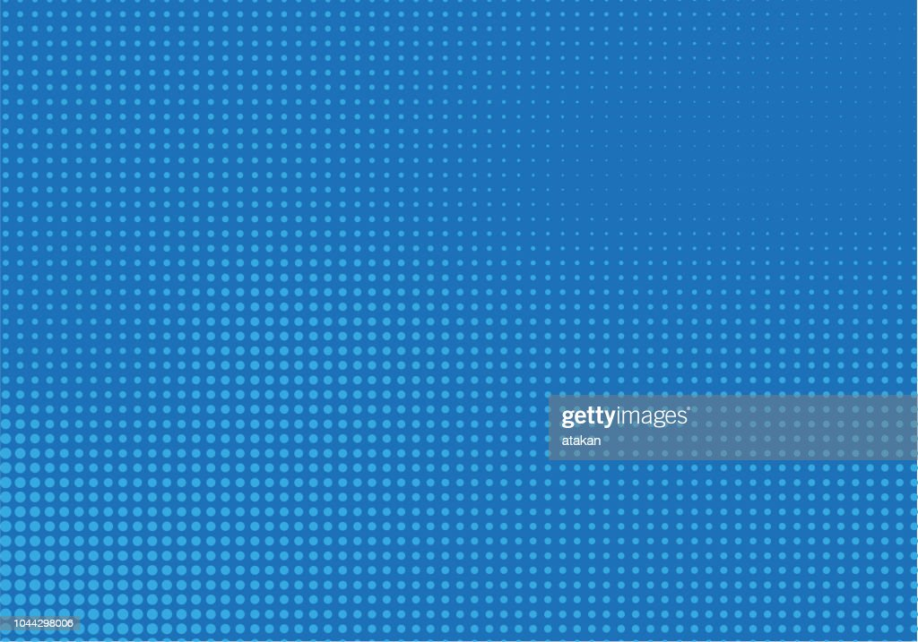 Blue Halftone Background : stock illustration