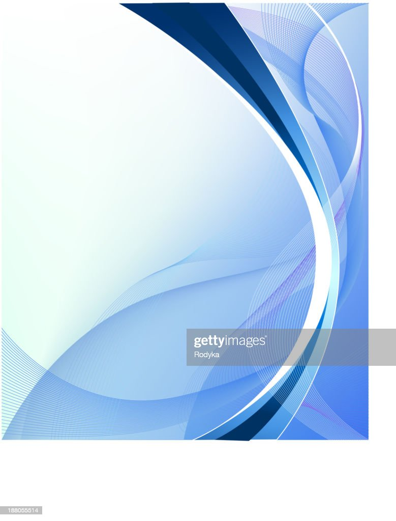 Blue holiday abstract background