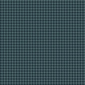 Blue Houndstooth Seamless Pattern