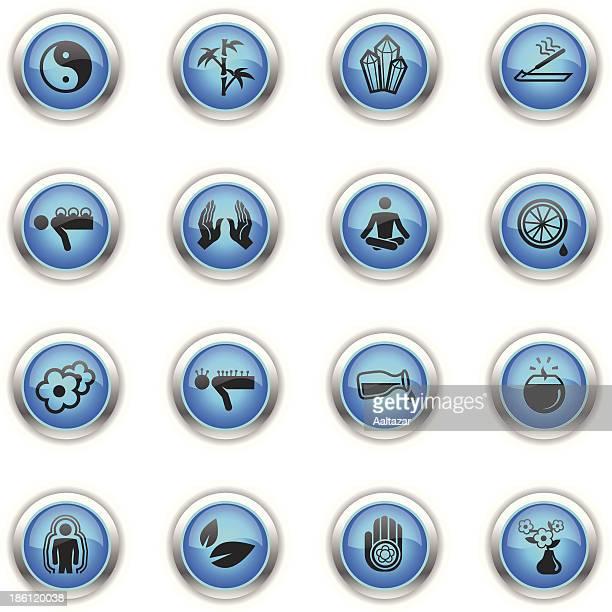 Blue Icons - Alternative Medicine