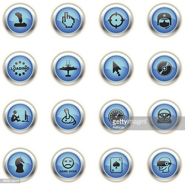 Blue Icons - Computer Gaming
