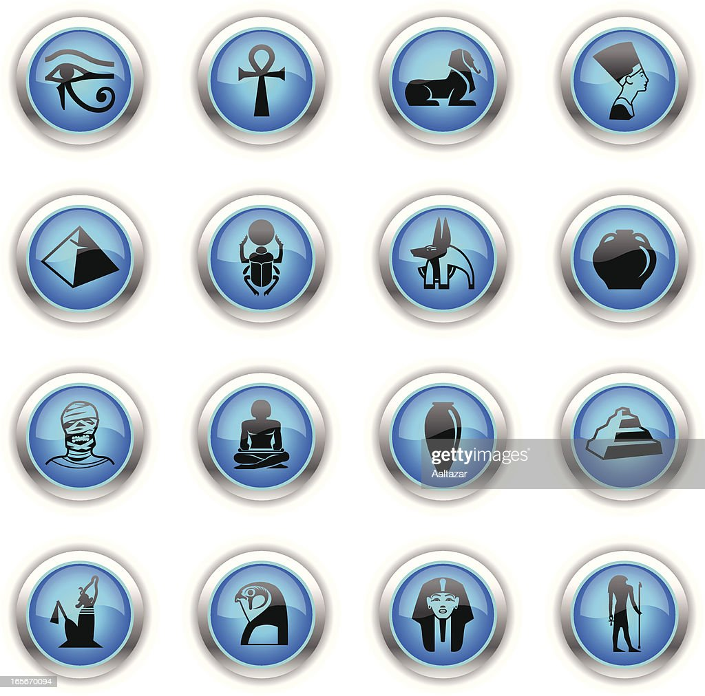 Blue Icons -  Egypt