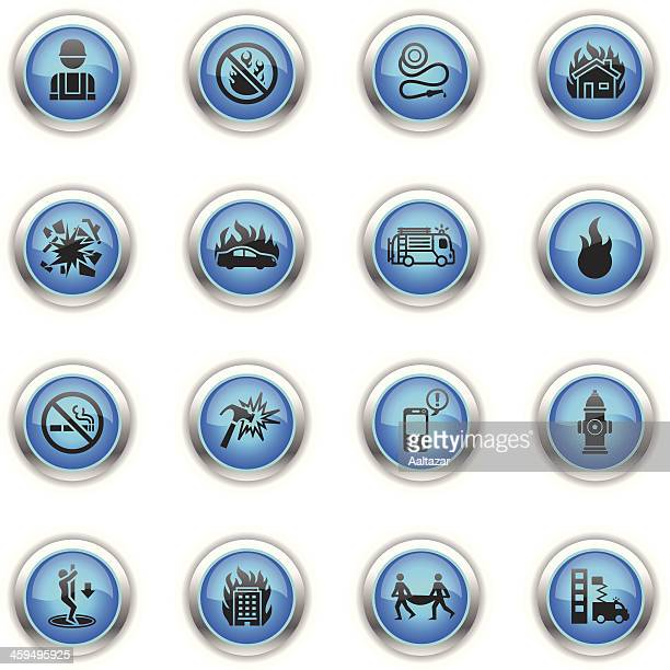 Blue Icons - Firefighters