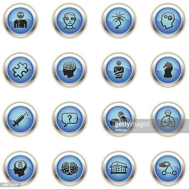 Blue Icons - Psychology
