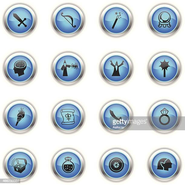 Blue Icons - Role Playing Games