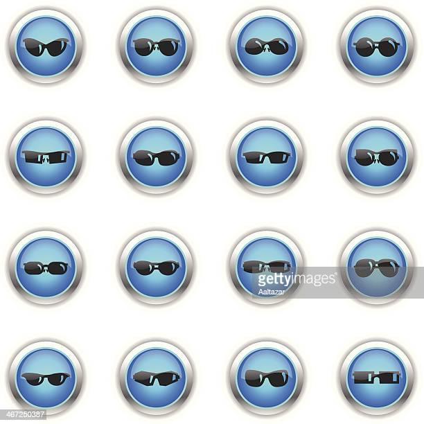 Blue Icons - Sunglasses