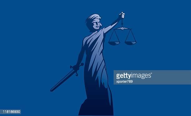 ilustraciones, imágenes clip art, dibujos animados e iconos de stock de justicia - ojos tapados