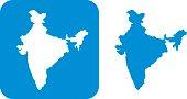 Blue India Icon