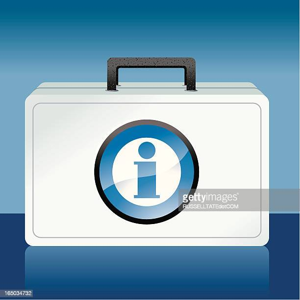 blue info kit - disaster relief stock illustrations, clip art, cartoons, & icons
