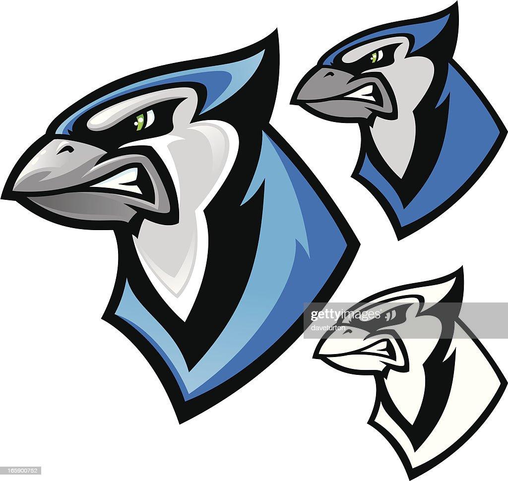 Blue Jay Mascot