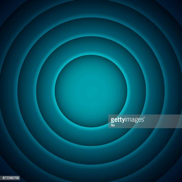 blue layers abstract background - actor stock illustrations